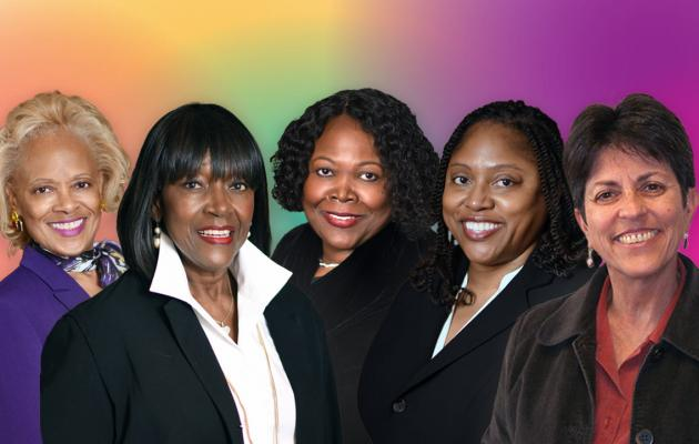 Female members of WPCCU's Board of Directors and Supervisory Committee