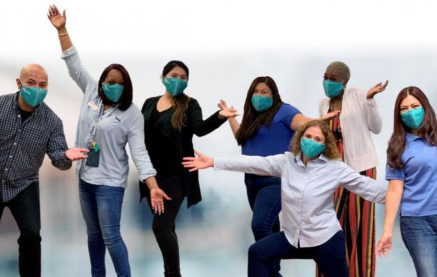 A photo of joyful WPCCU staff.